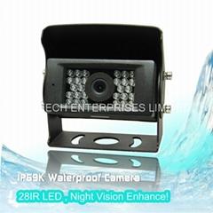 Waterproof IP 69K car camera LC-028A