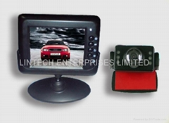 "2.4GHz wireless Rear view system(2.5"" LCD)"