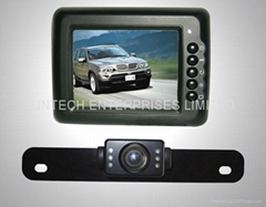 "Wireless car rear view system(3.5"" LCD)"