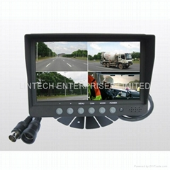 7 inches Quad LCD monitor