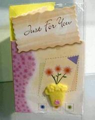 Handmade/Birthday/Music  Card