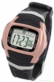 Rose Gold plating finish sporty watch