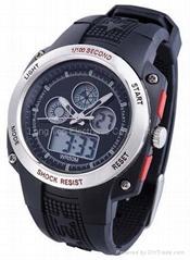Digital-analogue watch
