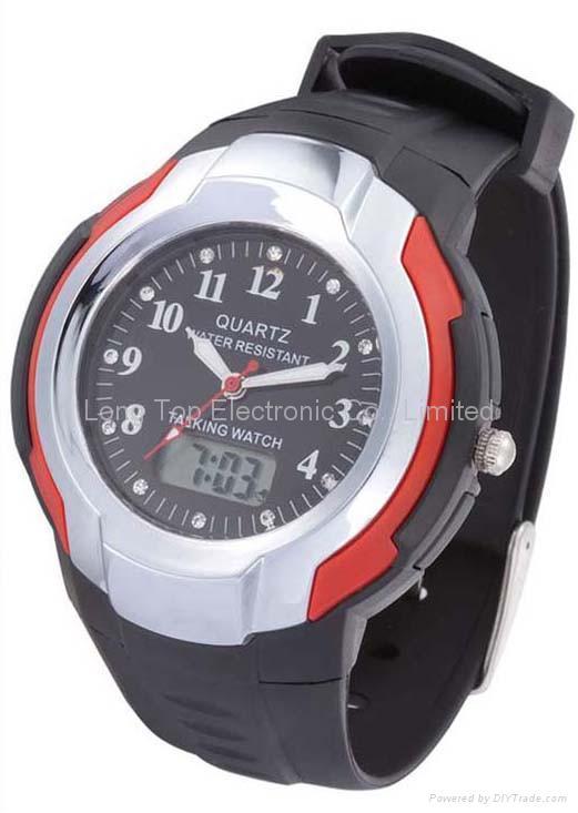 Digit-analogue Talking watch 1