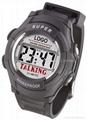 LCD Talking watch