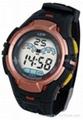 Water-resist Sporty LCD watch