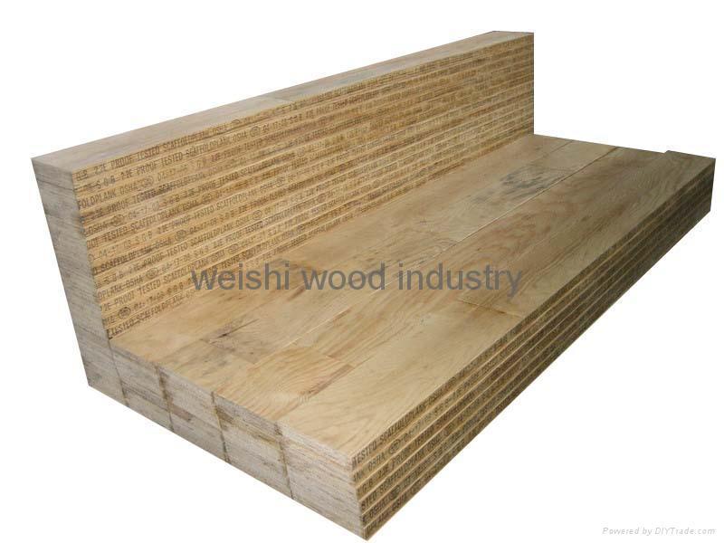 Osha laminated scaffold plank weishi china
