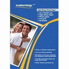 210g High Glossy Inkjet Photo Paper