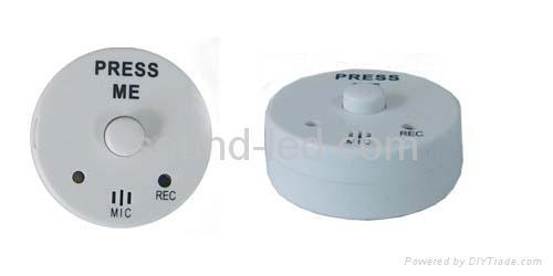 Recording module,mini recorder,doll recorder,push module,round recorder 1