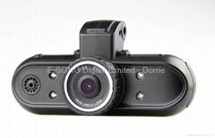 Full HD 1,080 Pixels Car Black Box with Ambarella Chipset,GPS and G-Sensor