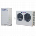 Split EVI low temperature heat pump R410A