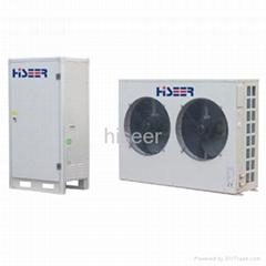 Split EVI low temperature heat pump R410A