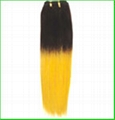 100% human hair products---Silky Straight Weaving 1