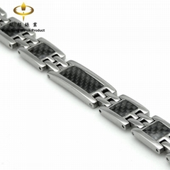 Titanium Bracelet with NSE chip(iT23Mqb)  (Hot Product - 1*)