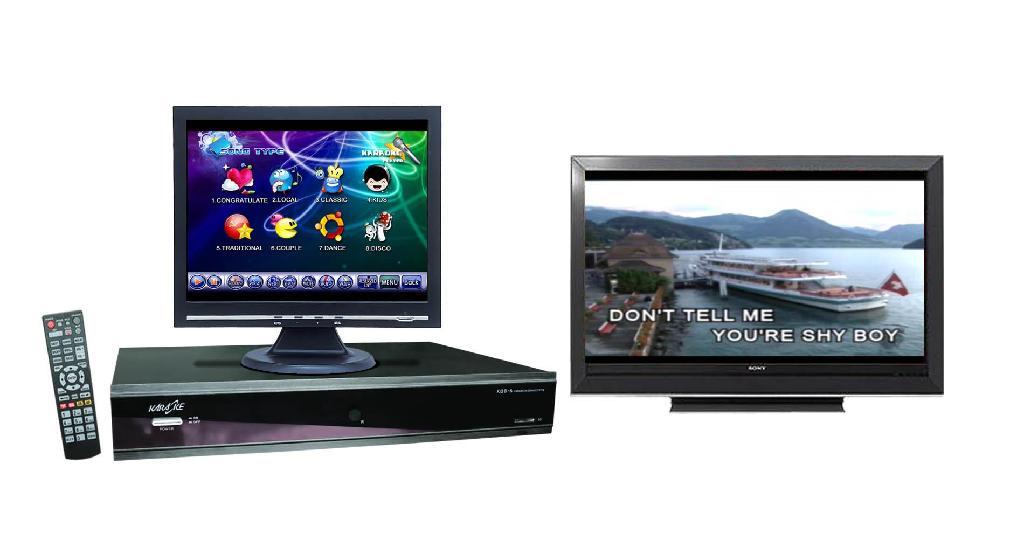 HD Karaoke Player w/ Touchscreen Karaoke Player 1