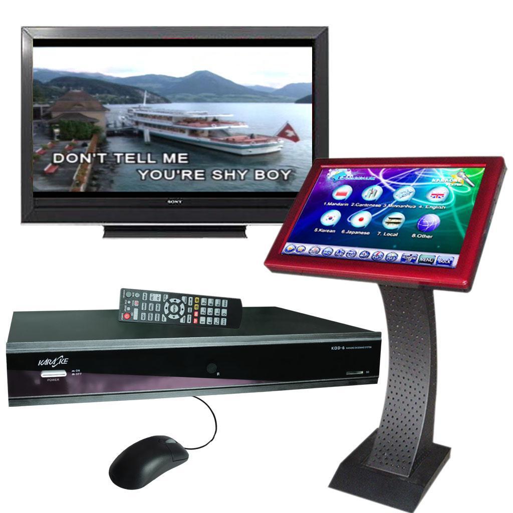 HD Karaoke Player w/ Touchscreen Karaoke Player 2