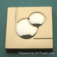 """6""wall tactile switch-Sun & Earth"