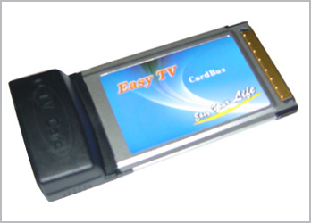 New Philip 7134 Cardbus PCMCIA TV Tuner Card 1
