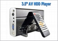 3.5' DVD MP3/MP4 HDD Player