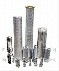供應煤礦不鏽鋼液壓支架濾芯
