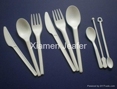 Compostable CPLA cutlery