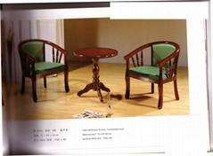 實木椅子套件