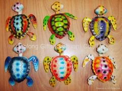 Cartoon Tortoise Fridge Magnet