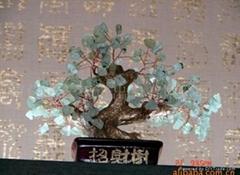 招财水晶树