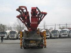 37混凝土输送泵车
