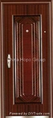 Steel Security Door, Steel Exterior Door, Metal Door, Entrance Door