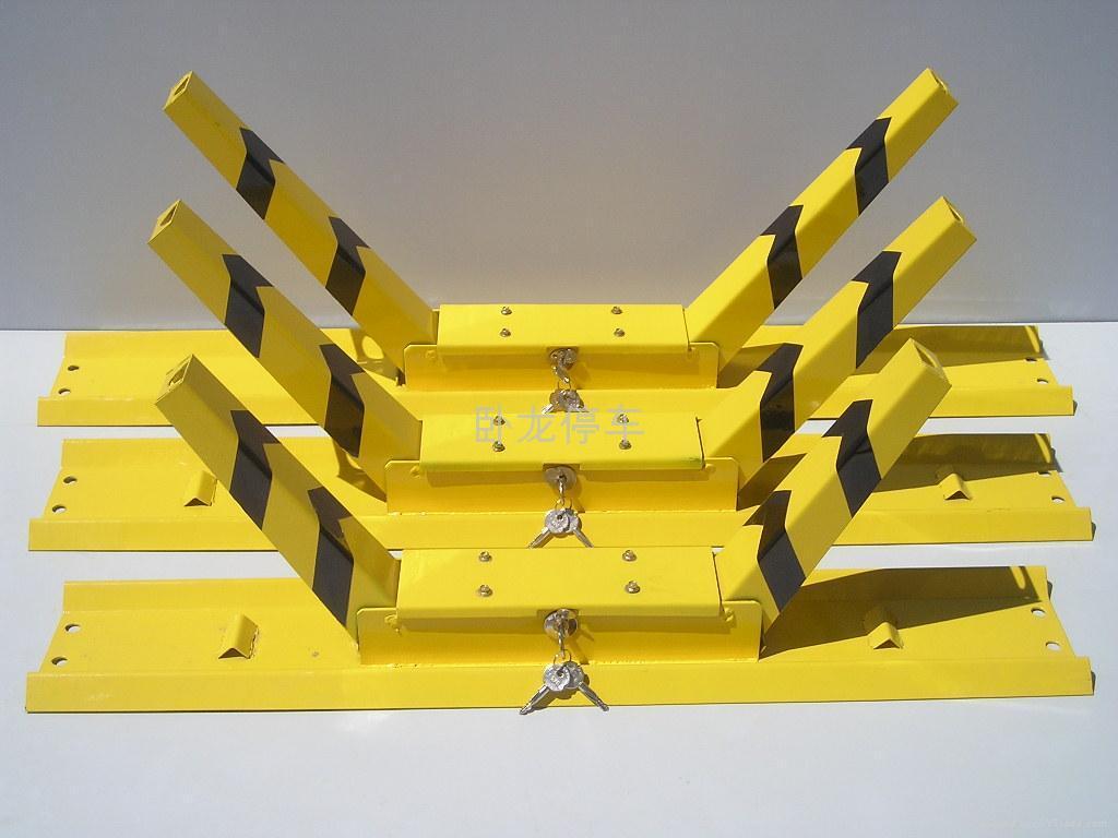 卧龙牌K型车位锁 大小车轮锁 2