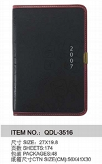 Notebook or Diary(QDL-3516)