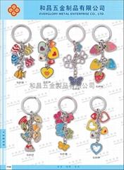 钥匙扣饰品.合金小吊饰 #G-0123-G-0129