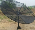 C band Satellite Parabolic Mesh Dish