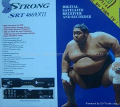 digital satellite receiver decoder Strong 4669XII