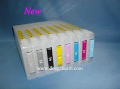 Epson7800/9800 large format printer refillable cartridge