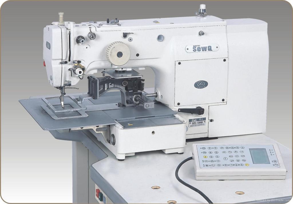 Computerized Servomotor Direct Drive Pattern Program Sewing Machine ...