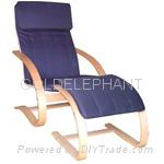 relax chair and foot stool