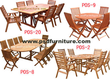 outdoor furniture garden tabel wooden oset4 1 - Garden Furniture Top View Psd