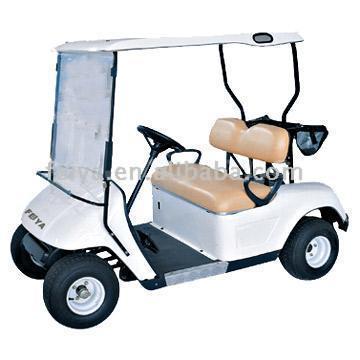two seats golf cart 1