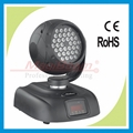 disco light led moving head wash - 36x3W