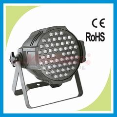 stage LED par can wash light for 54x3W RGBW color