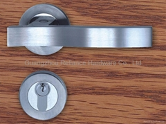 stainless steel 304 grade material door lock with Lever Handle
