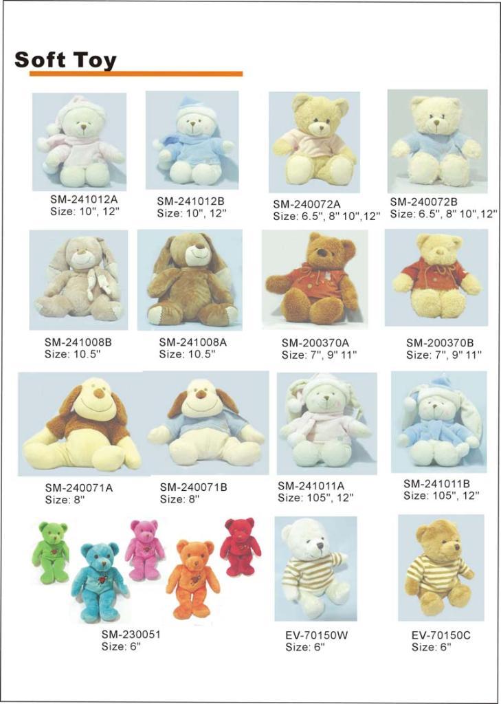 Soft Toys Product : Soft toys product catalog china bebetour trading co