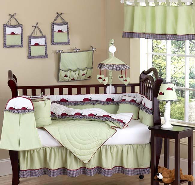 Crib bedroom set