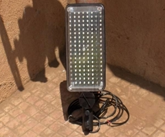 SOLAR LED LUMINERY
