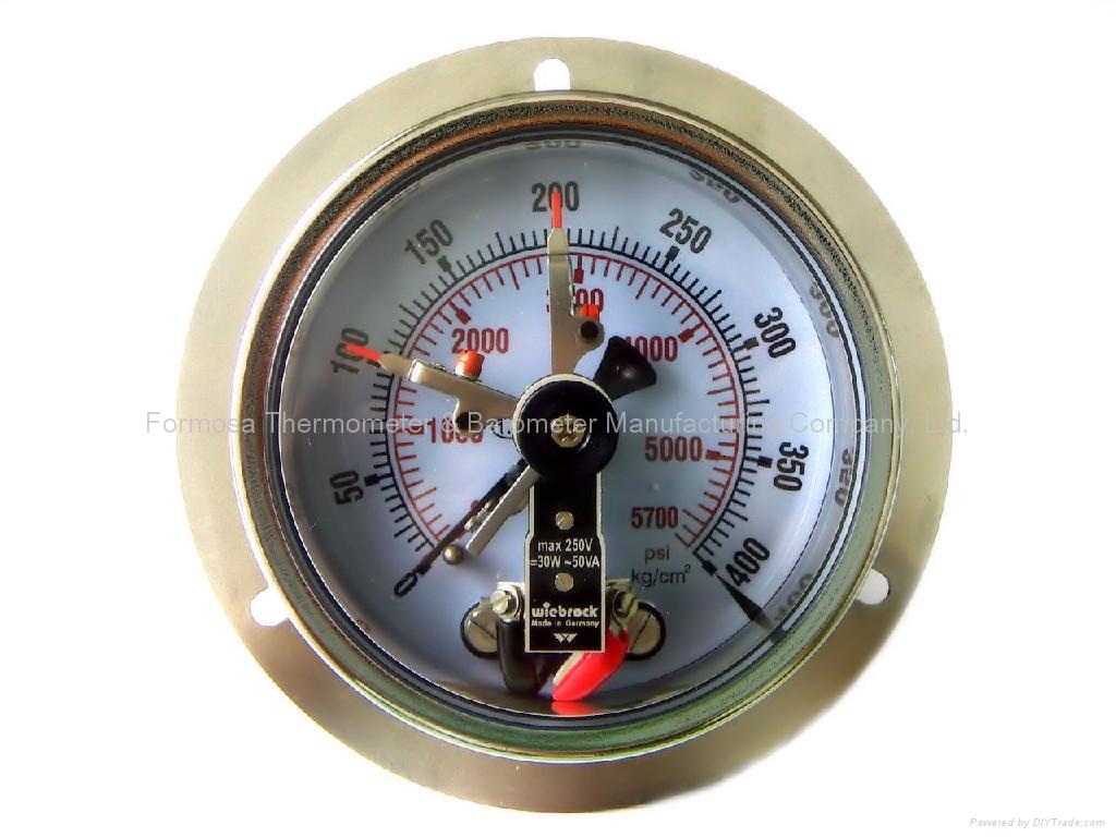 What Are Electrical Instruments : Electrical contact pressure gagues gauge with
