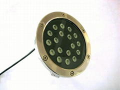 high power 18W led underwater light