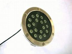 high power 18W led underwater light