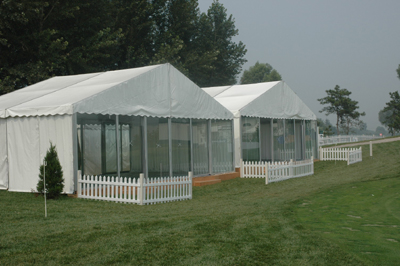 铝合金组合式篷房 1
